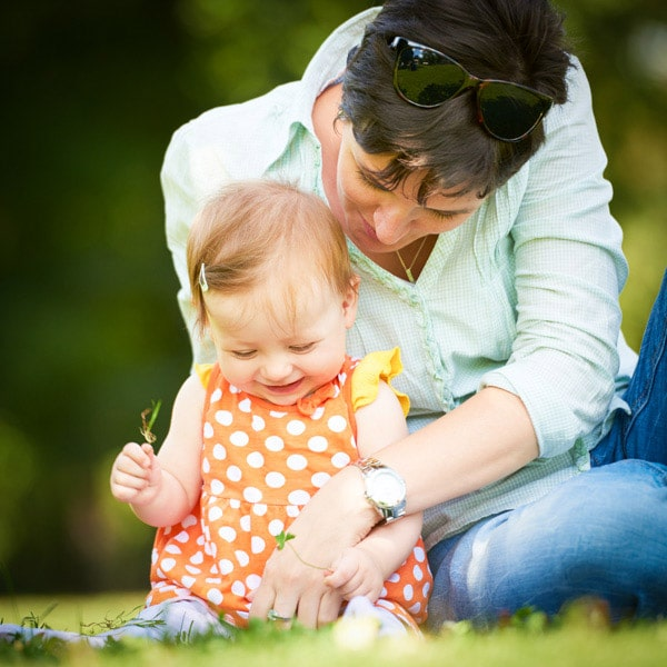 Individual Health Insurance - mom with baby